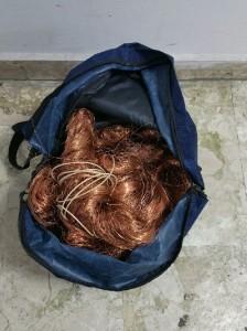 Saline di Montebello Jonico (Rc). Tre arresti per furto di rame.