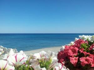 azzurro di cielo e di mare jonio
