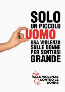 Manifesto contro violenza sulle donne 25 novembre