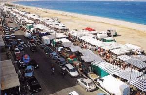 Milazzo (Me). Controlli della polizia municipale al mercato settimanale