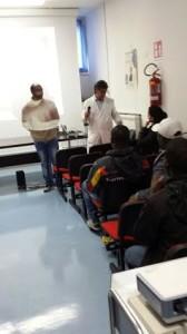 Momento lezione educazione sessuale per immigrati Asrem Agnone - febbraio 2015 (1)