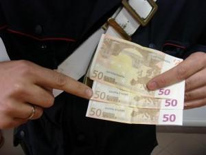 Siderno (Rc). Carabinieri: denunciato un  un 32enne perchè trovato in possesso di banconote false.