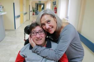 Angela Ruggero e il figlio Simone doc