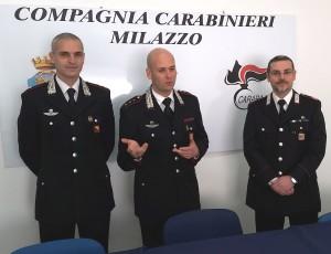 Roccavaldina (Me). I Carabinieri arrestano un 34enne e un 27enne di Catania per furto aggravato.