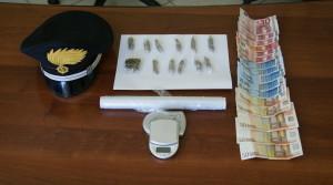 Melito Porto Salvo (Rc). Un arresto per produzione, traffico e detenzione illecita di sostanza stupefacente