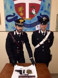 San Martino di Taurianova (Rc). Due arresti per porto e detenzione illegale di armi e munizioni