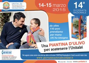 """14^ Giornata Nazionale """"Pasqua con l'UNITALSI"""",  14 e 15 Marzo 2015."""