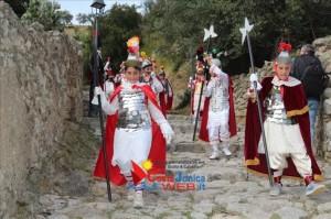 alabardieri simbolo androgino Settimana Santa Badolato 2014