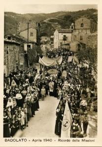 ricordo delle missioni - BADOLATO DI CALABRIA aprile 1940