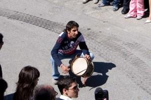 sfida tamburo-stendardo - Pasqua Badolato - gilbotulino