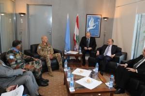 Visita al Comando Unifil del Ministro della Difesa Armeno