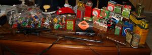 munizioni e fucili