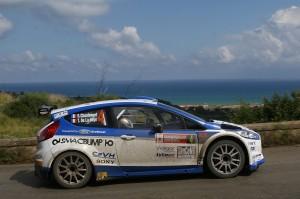 Sebasten Chardonnet, Thibault De La Haye (Ford Fiesta R5 #4, Asd SG Promotion)