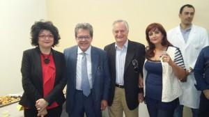 Ida Grossi, Enzo Bianco, Rosario D'Agata e Gabriella Barchitta