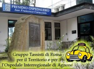 LOGO GRUPPO TASSISTI DI ROMA PER OSPEDALE AGNONE 2015