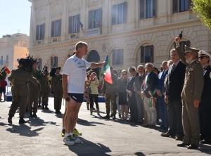 Partenza Staffetta dalla Città di Trapani. (3)