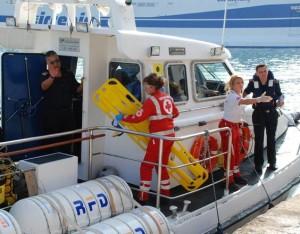 Accordo tra Croce Rossa e Capitaneria di Porto a Napoli