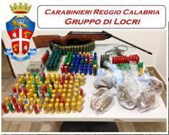 Locride (Rc). Continuano le attività di contrasto alla criminalità da parte dei Carabinieri del Gruppo di Locri.