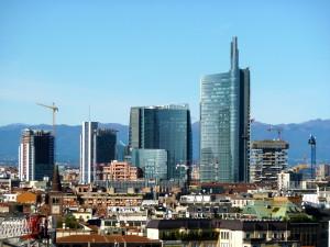 il nuovo skyline di Milano 2015
