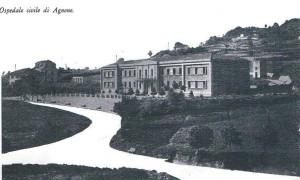 Ospedale di Agnone in una vecchia cartolina.
