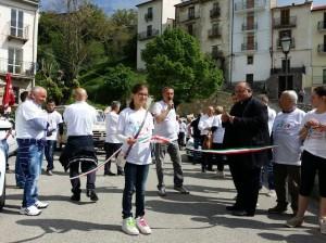 protesta taxi roma pro ospedale agnone 09.5.2015 taglio nastro Villacanale