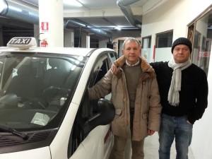tassisti romani altomolisani arnaldo sabelli  e tonino schiappoli 15.03.2015