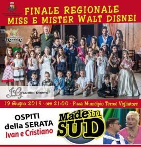 Finale Miss e Mister Walt Disnei Sicily 2015
