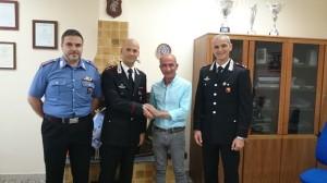 Sindaco incontra i Carabinieri