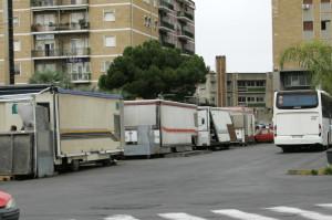 camion dei panini alla stazione