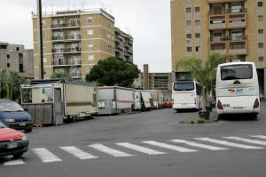 camion dei panini e suolo pubblico