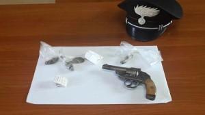 pistola e droga