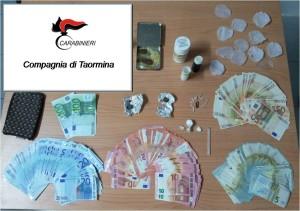 stupefacente sequestrato dai CC di Taormina