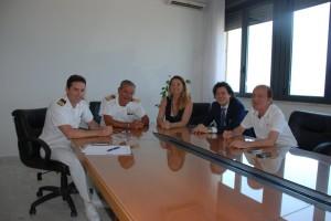 Incontro del Direttore Marittimo con rappresentanti del comune di Reggio Calabria