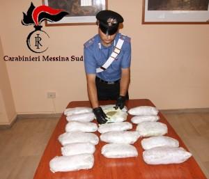 Messina. Nascondevano 7 chili di marijuana nel portellone posteriore dell'auto. Due arresti agli imbarcaderi.
