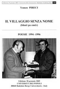 IL VILLAGGIO SENZA NOME prima pagina Ysmen Pireci L-M 2015