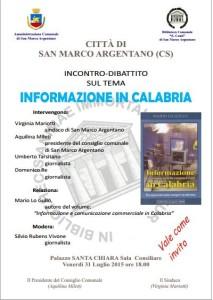 Informazione in Calabria