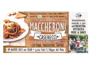 Locandina Sagra maccheroni caserecci (2)