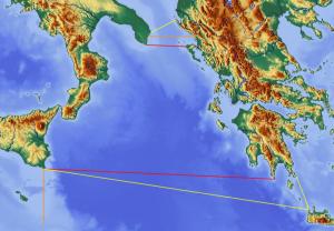 Mare Jonio tra Grecia e Magna-Grecia