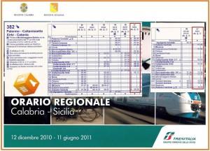 Orari Ferroviari 12 dicembre 2010 - 11 giugno 2011