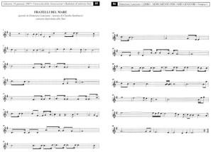 SPARTITO MUSICALE FRATELLI DEL MARE