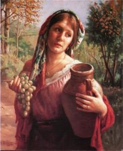 bella campagnola uva vaso