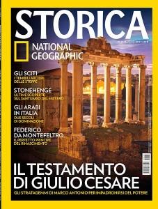 coeprtina rivista STORICA luglio 2015 National Geographic