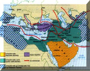 conquiste arabe dopo il 622