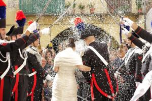 matrimonio del carabiniere