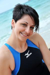 """Roccella Jonica (Rc). Monica Priore nuoterà per """"Volando sulle onde della vita"""""""