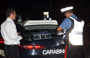 Carabinieri etilometro