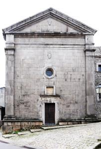 santa maria delle grazie - riccia cb dove è sepolta Costanza di Chiaramonte regina di Napoli