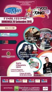 """Festival Una Voce per lo Jonio, la fase finale presso il Centro Commerciale """"I due mari"""""""