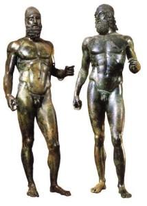 I Bronzi di Riace all'Expo  di Milano. Settimana del protagonismo della calabria