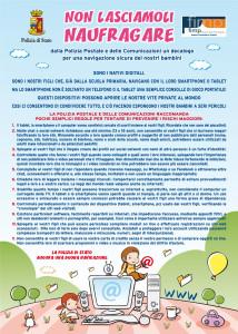 Catania. Polizia di Stato e Federazione Italiana Medici Pediatri insieme per un decalogo dedicato ai bambini e ai ragazzi che navigano in rete